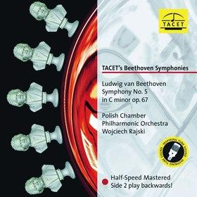 BEETHOVEN - TACET'S BEETHOVEN SYMPHONIES NO.5 LP WOJCIECH RAJSKI