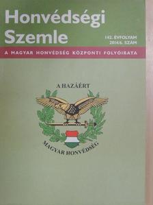 Balla Tibor - Honvédségi Szemle 2014/6. [antikvár]