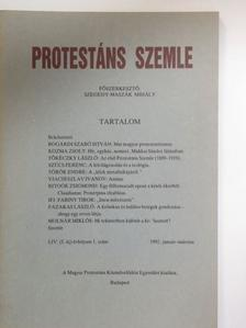 Bogárdi Szabó István - Protestáns Szemle 1992. január-március [antikvár]