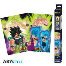 Abysse Europa Kft. - DRAGON BALL BROLY - Set 2 Chibi Posters
