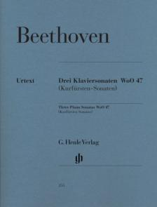 BEETHOVEN - DREI KLAVIERSONATEN WoO 47 (KURFÜRSTEN-SONATEN)