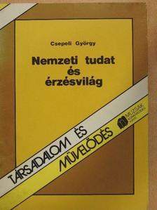 Csepeli György - Nemzeti tudat és érzésvilág [antikvár]