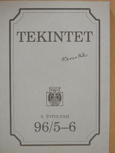 Balogh Sándor - Tekintet 1996/5-6 [antikvár]