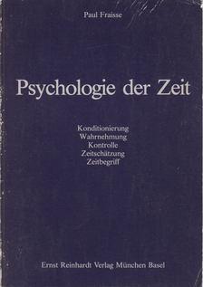 Paul Fraisse - Psychologie der Zeit [antikvár]