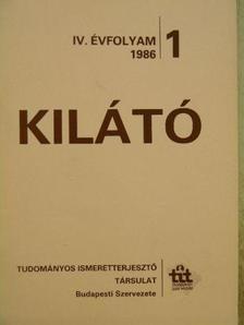 Ágh István - Kilátó 1986/1. [antikvár]