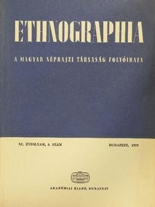 Bodó Sándor - Ethnographia 1979/4. [antikvár]