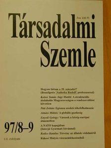 Almási Miklós - Társadalmi Szemle 1997. augusztus-szeptember [antikvár]