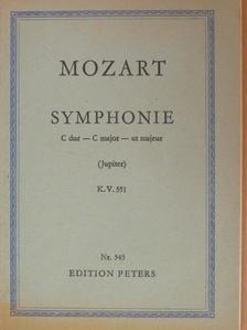 Wolfgang Amadeus Mozart - Symphonie C dur [antikvár]