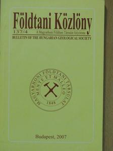 Bradák Balázs - Földtani Közlöny 2007/4. [antikvár]