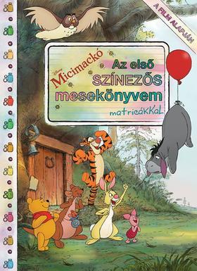 Disney - Micimackó - Az első színezős mesekönyvem matricákkal