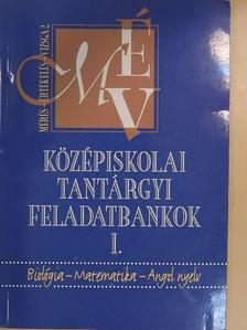 Krolopp Judit - Középiskolai tantárgyi feladatbankok I. [antikvár]