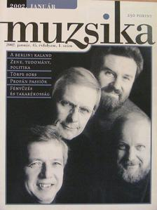 Albert Mária - Muzsika 2002. január [antikvár]