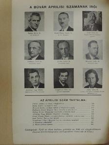 Aldobolyi Nagy Miklós - Búvár 1940. április [antikvár]