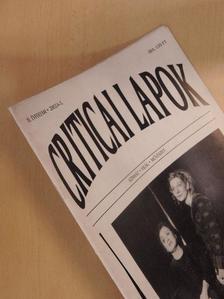 Agárdi Péter - Criticai lapok 2002/4-5. [antikvár]
