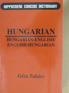 Géza Takács - Hungarian-english/English-hungarian [antikvár]