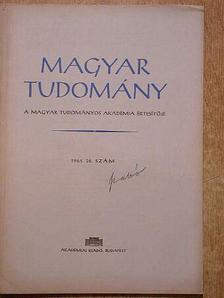A. V. Palladin - Magyar Tudomány 1961. október [antikvár]