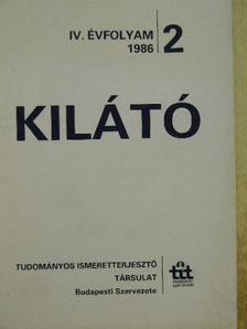 Abonyi Iván - Kilátó 1986/2. [antikvár]