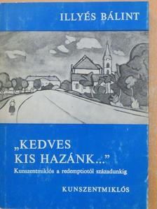 """Illyés Bálint - """"Kedves kis Hazánk..."""" [antikvár]"""