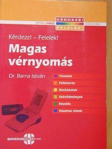Dr. Barna István - Magas vérnyomás [antikvár]