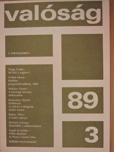 Balázs Tibor - Valóság 1989. március [antikvár]