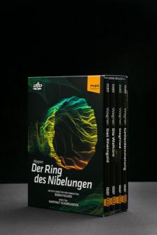 Wagner - DER RING DES NIBELUNGEN 6DVD FISCHER ÁDÁM