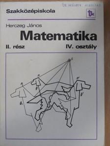Herczeg János - Matematika II. [antikvár]