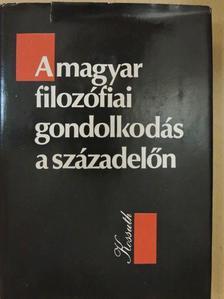 Beöthy Ottó - A magyar filozófiai gondolkodás a századelőn [antikvár]