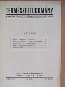 Anghi Csaba Geyza - Természettudomány 1948. február [antikvár]