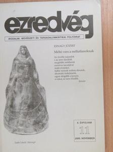 Ágai Ágnes - Ezredvég 2000. november [antikvár]
