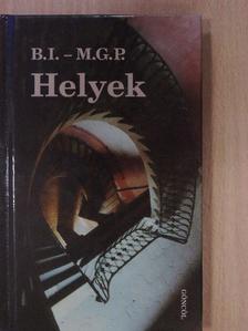 Bächer Iván - Helyek [antikvár]