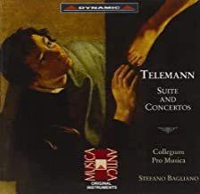TELEMANN - SUITE AND CONCERTOS CD BAGLIANO, COLLEGIUM PRO MUSICA