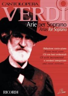 Verdi - CANTOLOPERA: VERDI ARIE PER SOPRANO E PIANOFORTE + CD