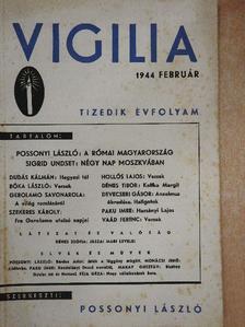 Bóka László - Vigilia 1944. február [antikvár]