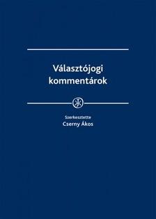 Cserny Ákos szerk. - Választójogi kommentárok [eKönyv: epub, mobi]
