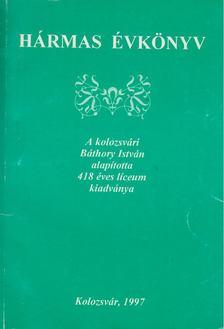Balázs Ildikó - Hármas évkönyv [antikvár]