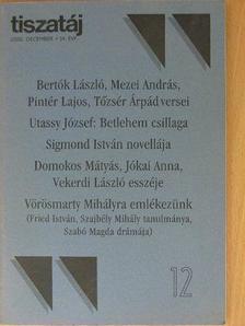 Bertók László - Tiszatáj 2000. december [antikvár]