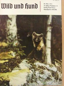 Hans Behnke - Wild und Hund 19. März 1972 [antikvár]