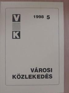 Dr. Harald Gorr - Városi közlekedés 1998. október [antikvár]