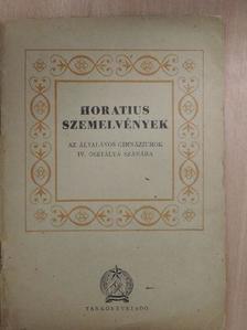 Antal Imre - Horatius szemelvények [antikvár]