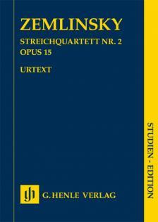 ZEMLINSKY - STREICHQUARTETT NR.2 OP.15 STUDIEN EDITION
