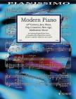 MODERN PIANO. 20th CENTURY, JAZZ, BLUES, POP, CROSSOVER, NEW AGE, MEDITATION MUSIC. PIANO LEICHT
