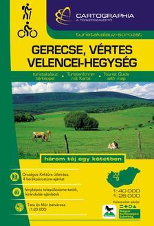 Cartographia - Gerecse, vértes, velencei-hegység - Turistakalauz spirálos