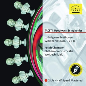 BEETHOVEN - TACET'S BEETHOVEN SYMPHONIES 1,2+8 2LP WOJCIECH RAJSKI