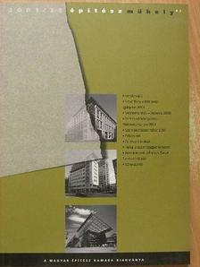 Építész Műhely 2001/2-3. [antikvár]