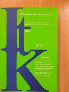 Ács Pál - Irodalomtörténeti Közlemények 2005/2-3. [antikvár]