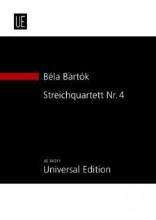Bartók Béla - STREICHQUARTETT NR.4 (1928) STUDIENPARTITUR