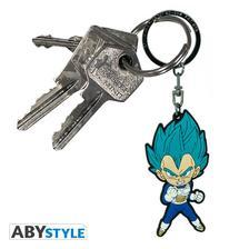 "Abysse Europa Kft. - DRAGON BALL SUPER - Keychain PVC ""Vegeta Saiyan Blue"""