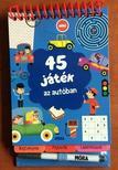 45 játék az autóban - rejtvények, fejtörők, labirintusok