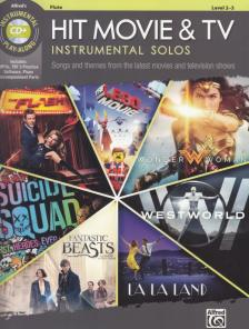HIT MOVIE & TV INSTRUMENTAL SOLOS LEVEL 2-3 + CD FLUTE PLAY ALONG