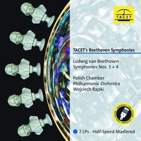 BEETHOVEN - TACET'S BEETHOVEN SYMPHONIES NO.3+4 2LP WOJCIECH RAJSKI